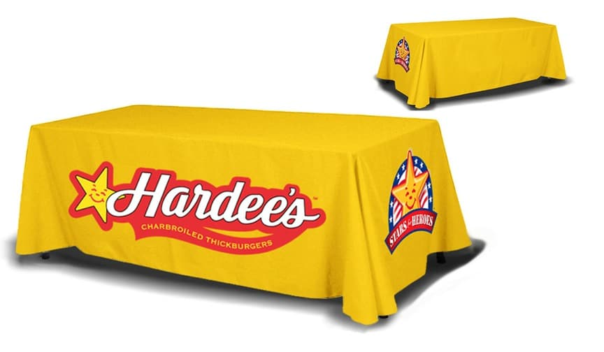 The best trade show tablecloths