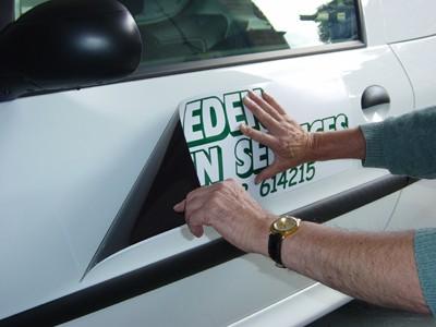 Magnetic Van Signs Design Online