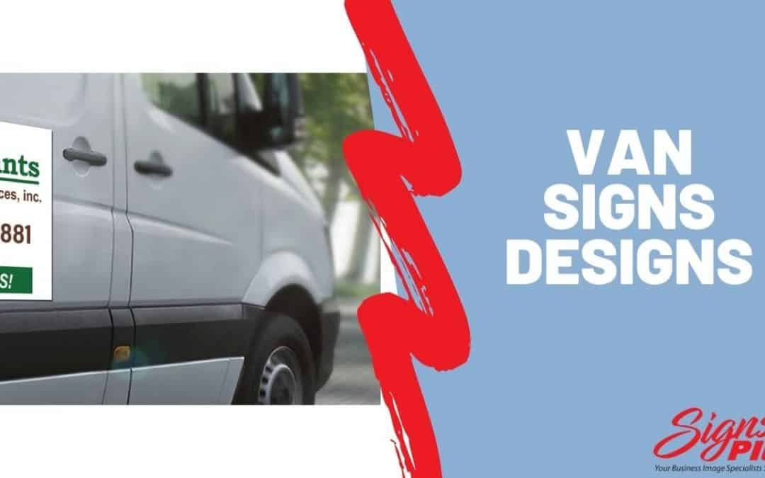Van Signs Designs Online