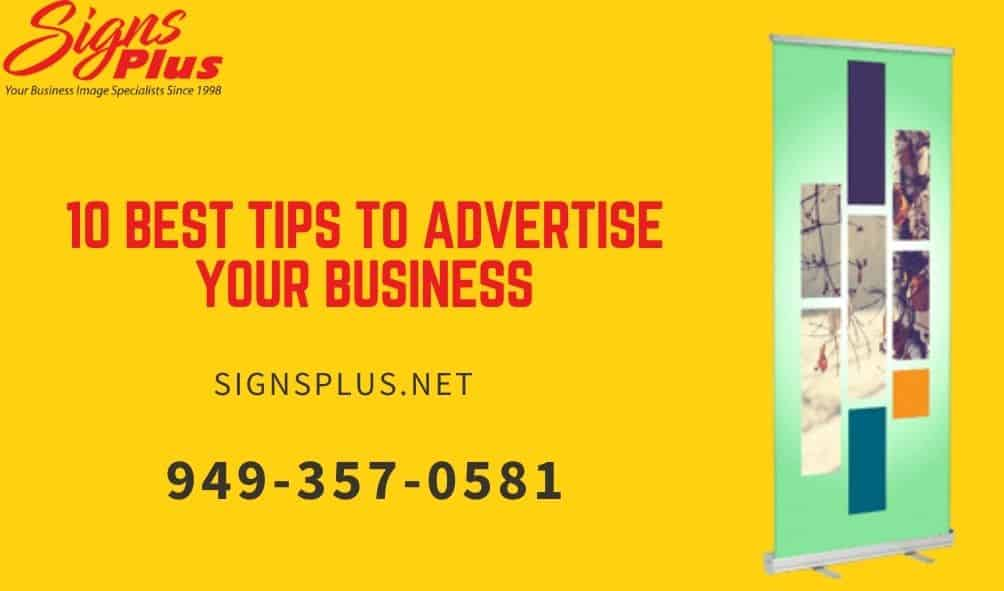 10 Best Tips to Advertise Your Business